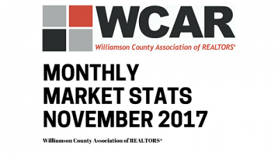 WCAR Helping Protect Homeowners, Prices Rise in November